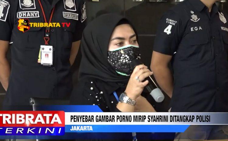 PENYEBAR GAMBAR PORNO MIRIP ARTIS 'SY' DITANGKAP POLISI