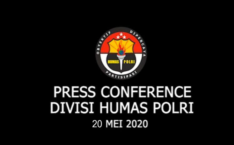 PRESS CONFERENCE TPPO – 20 MEI 2020